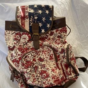 Mossimo Red White & Blue Backpack